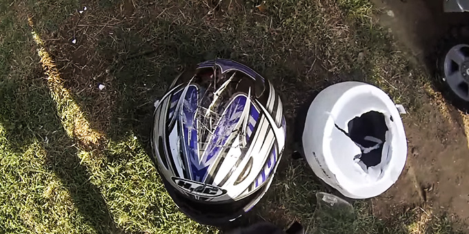 what to do with used motorcycle helmets 1