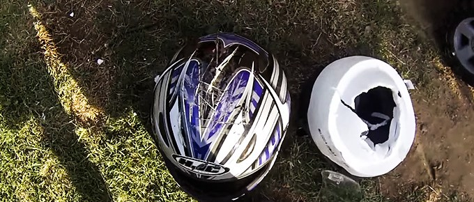 what to do with used motorcycle helmets