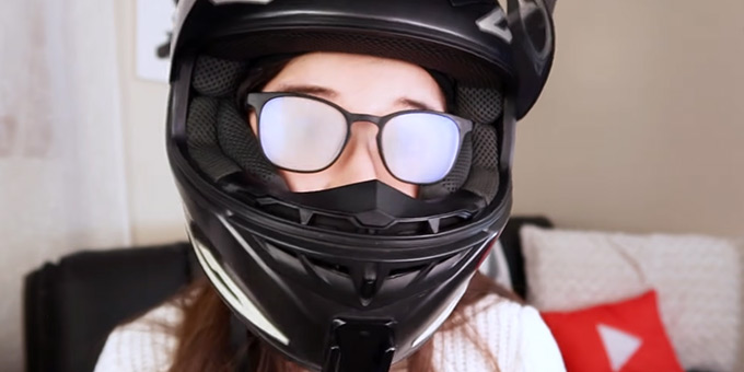 Can You Wear Glasses with Full Face Helmets
