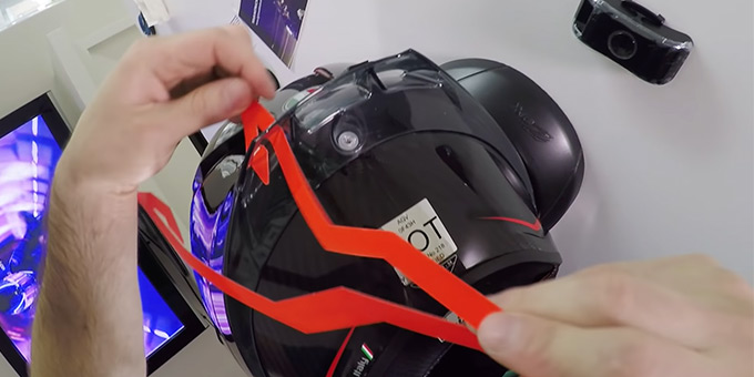 How Can I Make My Motorcycle Helmet More Visible FI