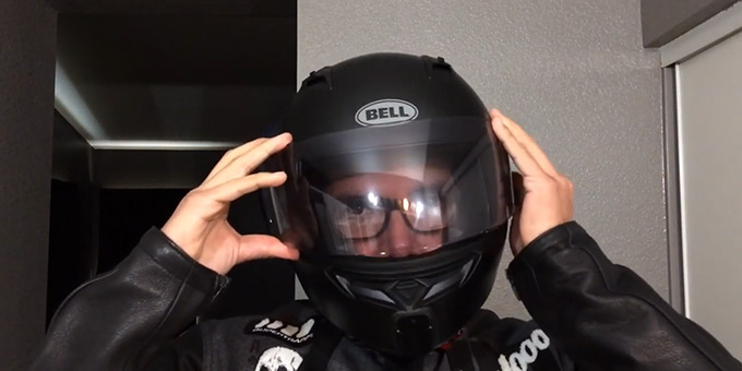 How to Put on Glasses with a Helmet