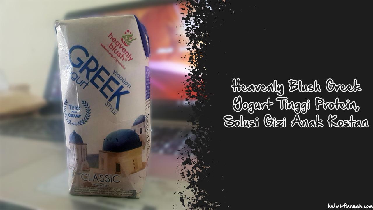Greek yogurt tinggi protein