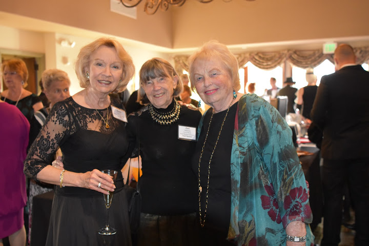 Britt Huff with Jimi Andersen, Pearl Sponsor, former honoree and H.E.L.P. Board Member; and Wendy Howell.
