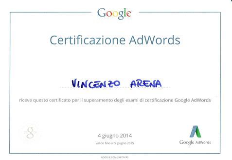 Certificazione Google AdWords