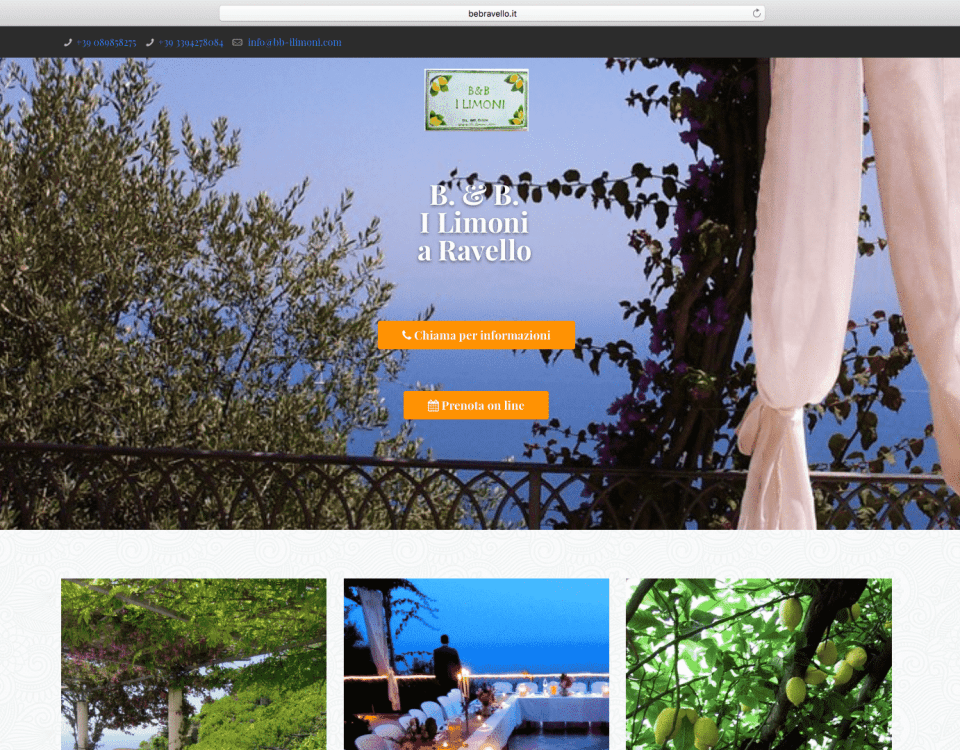 "Bed & Breakfast ""I Limoni"" a Ravello"
