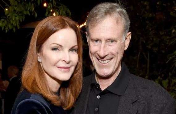 Marcia Cross and Tom Mahoney PHOTO: MICHAEL KOVAC/GETTY
