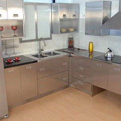 Metal Kitchen Cabinet Handmade Islands Cabinets Review The Blog And Appliances Made Of Stainless Steel