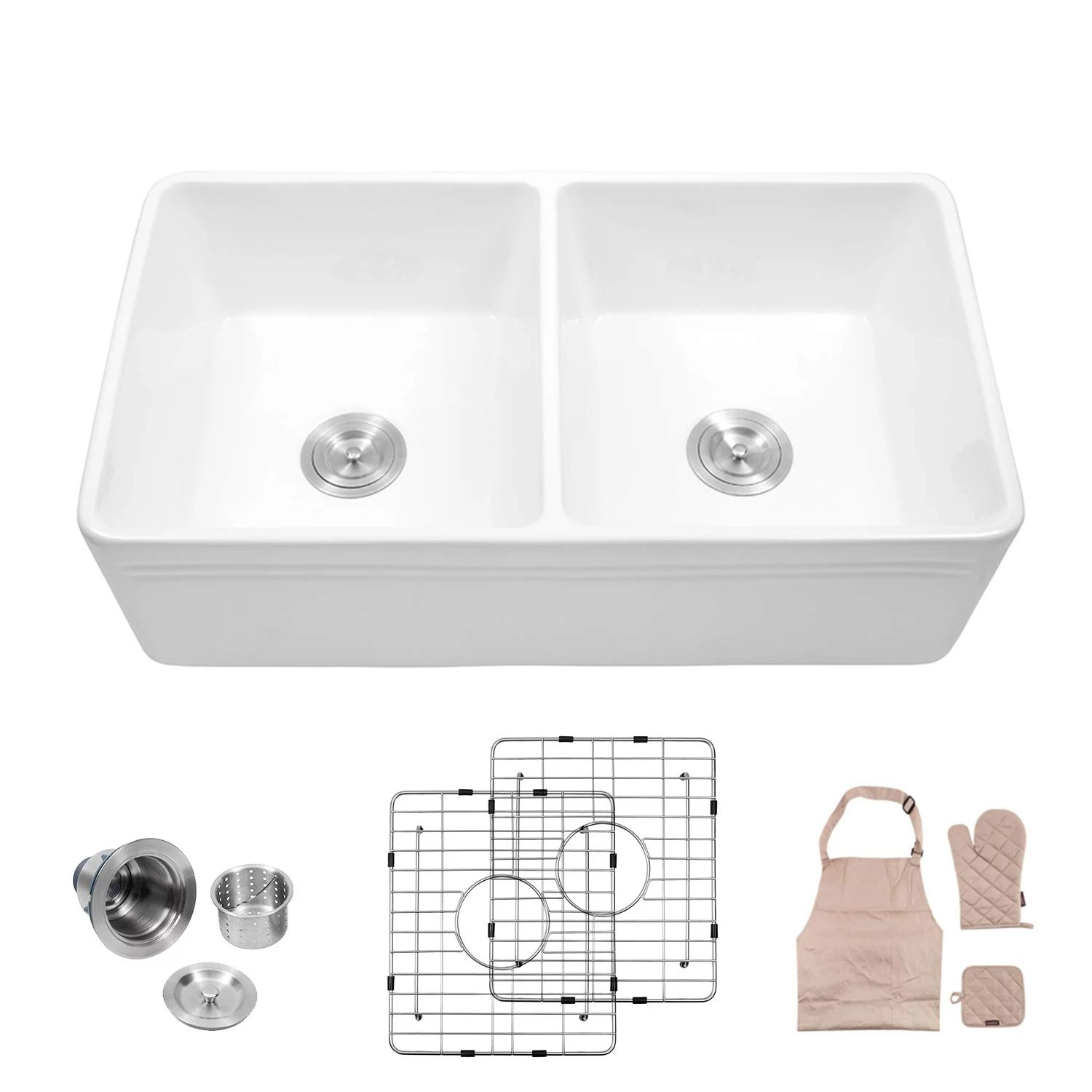 porcelain kitchen sinks pros and cons