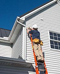 Louisville extension ladder