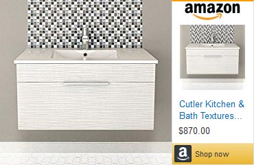 Cutler 36 in. one drawer Floating Vanity
