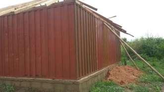 De school in aanbouw