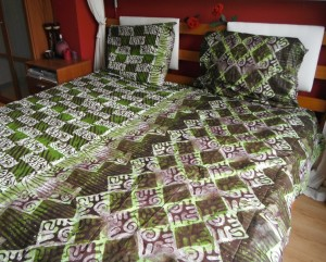 Bed sheet made by our students