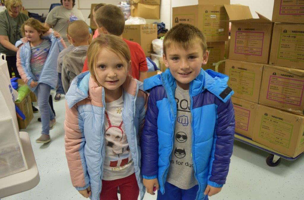 #CoatsforAmericans: Keeping Appalachian Children Warm
