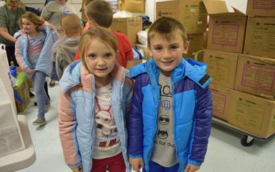 #CoatsforAmericans: Keeping Appalachian Children Warm