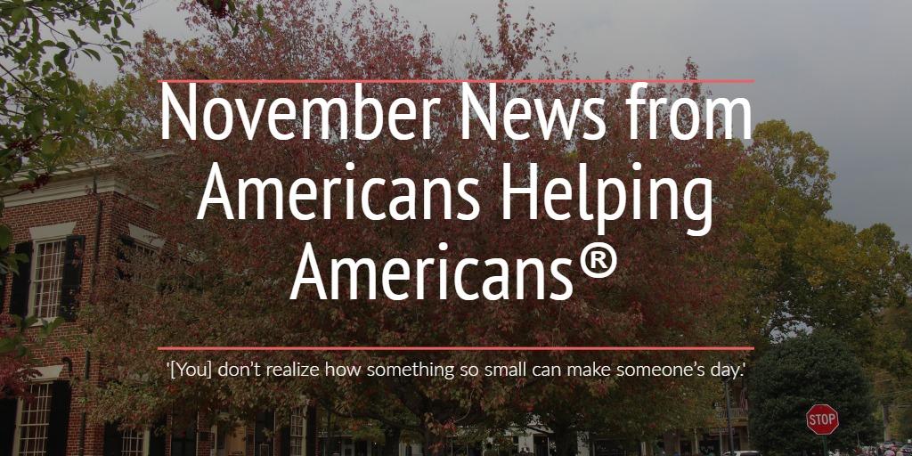 Americans Helping american enews