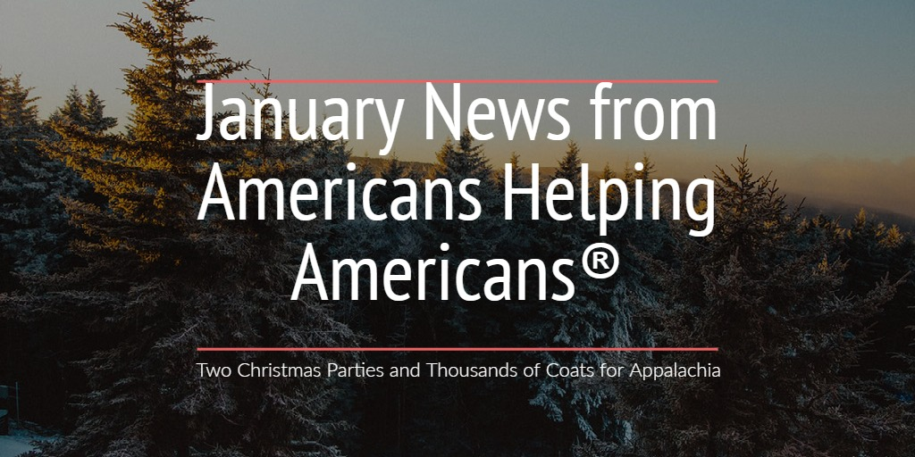 Two Christmas Parties and Thousands of Coats for Appalachia