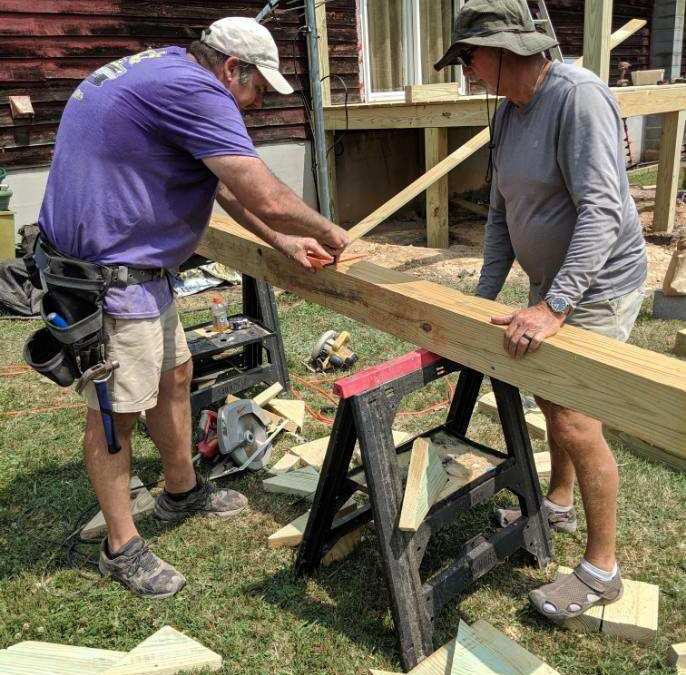 Home Repairs Continue Thanks To Our Supporters and Partner, Appalachian Outreach