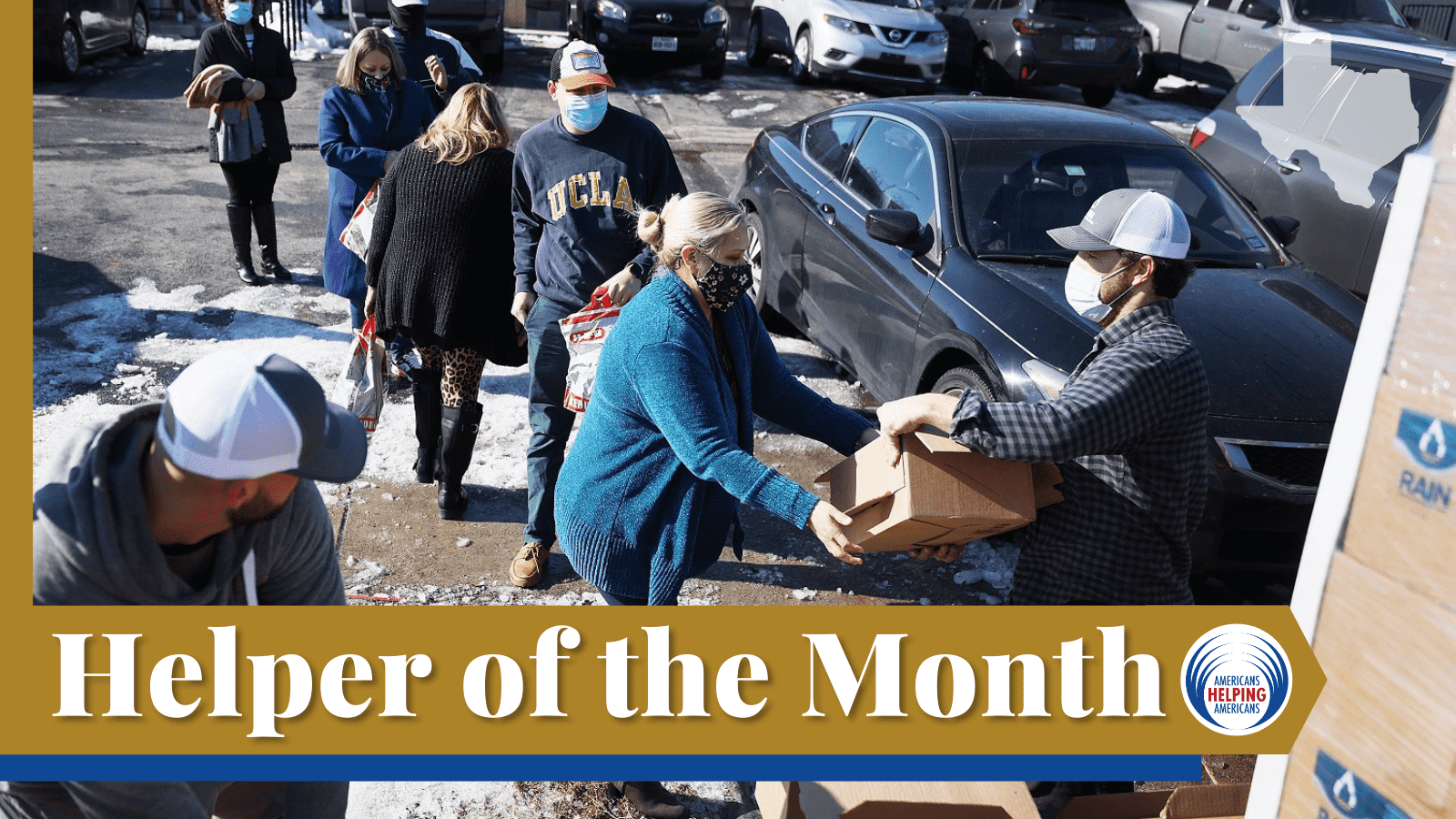 Texas Helper of the month