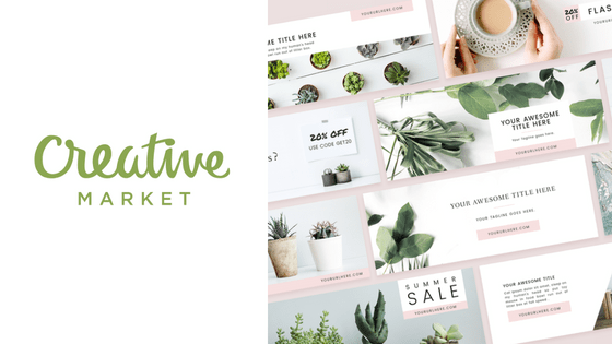 creative market free photos to use