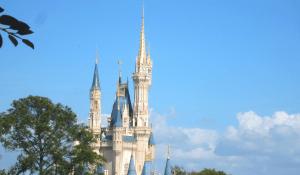 Cinderella's Castle in Disney World