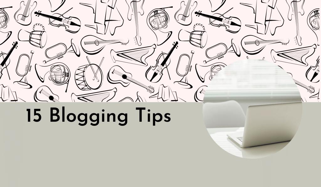15 blog tips