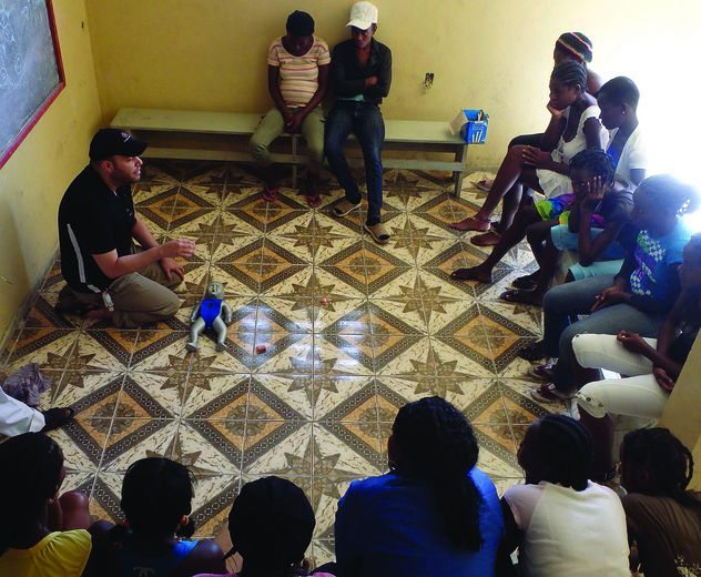 Helping Haiti Infant CPR Trianing