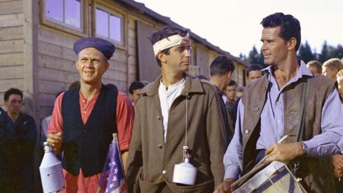 The Great Escape James Garner Steve McQueen Fourth of July