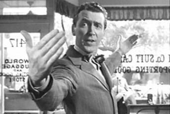 George Bailey James Stewart It's a Wonderful Life Frank Capra