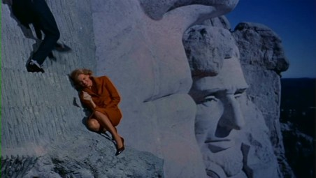 north by northwest mt rushmore cary grant eva marie saint alfred hitchcock