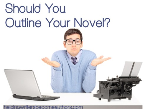 should you outline your novel