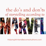 The Dos and Donts of Storytelling According to Marvel Series Square Tile