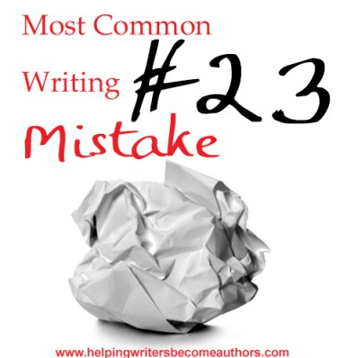 Most Common Writing Mistakes, 23: Is Your Prose Too Complex