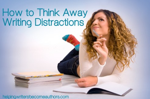 How to Think Away Writing DIstractions