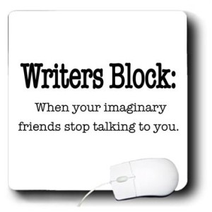 Writer's Block Mousepad