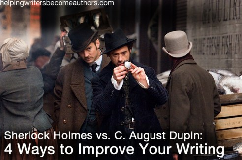 sherlock holmes improve your writing