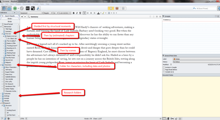 How K.M. Weiland Uses the Scrivener Binder for Outlining and Writing