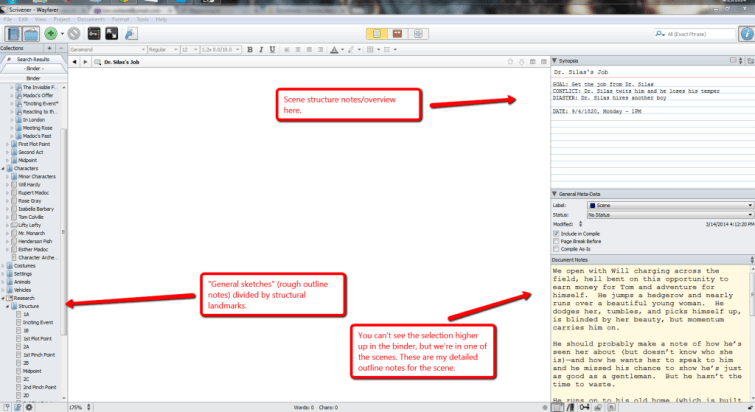 How K.M. Weiland Uses Scrivener for Research Notes, Outline Notes