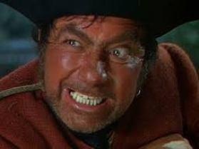 Long John Silver in Treasure Island