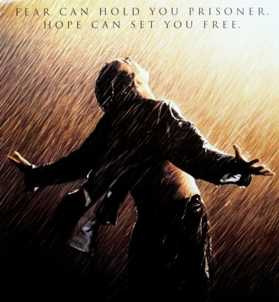 Shawshank Redemption Fear Can Hold You Prisoners But Hope Can Set You Free