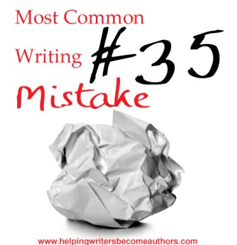 Most Common Writing Mistakes, Pt. 35: Random Story Elements