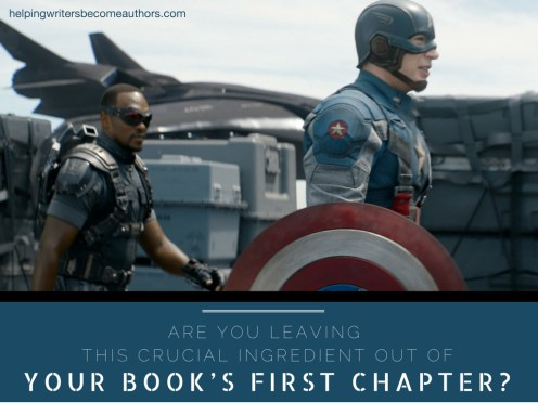 Are You Leaving This Crucial Ingredient Out of Your Book's First Chapter?