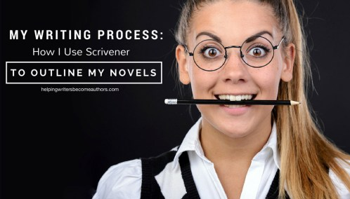 My Writing Process, Pt. 1 of 2: How I Use Scrivener to Outline My Novels