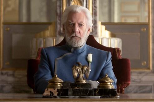Hunger Games Mockingjay President Snow Donald Sutherland