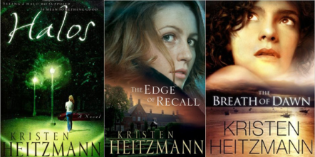 Kristen Heitzmann Halos Edge of Recall Breath of Dawn