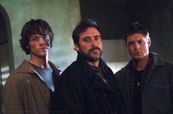 Supernatural Sam Dean John Winchester