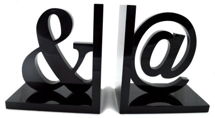 Typographical Bookends