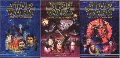 Star Wars Thrawn Trilogy Timothy Zahn Heir to the Empire Dark Force Rising Last Command