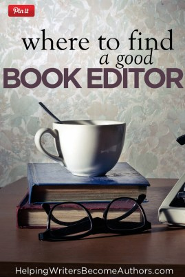 Where to Find a Good Book Editor