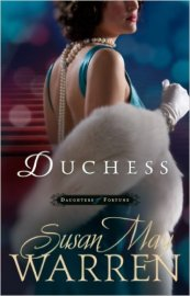 Duchess by Susan May Warren demonstrates proper narrative subtext in a deep third-person POV.