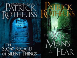 The Slow Regard of Silent Things by Patrick Rothfuss demonstrates a third-person POV, while The Wise Man's Fear demonstrates a first-person POV.